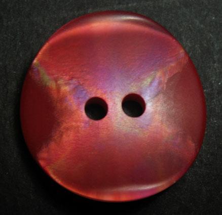 Bouton plastique rouge fraise cras e bt452 - Couleur fraise ecrasee ...