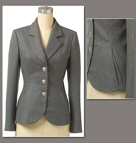 patron couture veste blazer