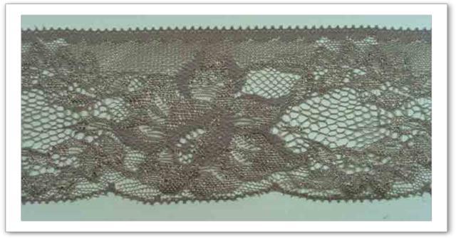 Dentelle polyester ref 3829 col gris taupe clair 1802231284 vente mercerie en ligne et loisirs - Gris taupe clair ...