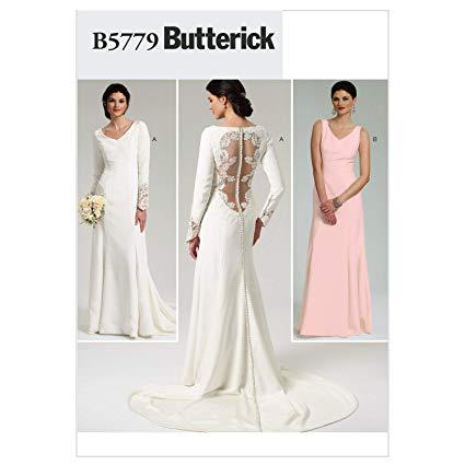 Patrons de couture robes de soirée, mariage
